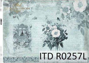рисовая бумага для декупажа R0257L