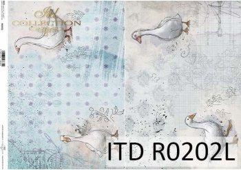 рисовая бумага для декупажа R0202L