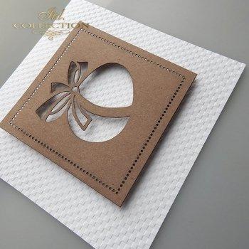 Пасхальная открытка с конвертом KW240