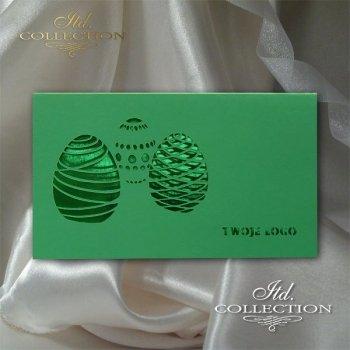 Пасхальная открытка с конвертом KW260