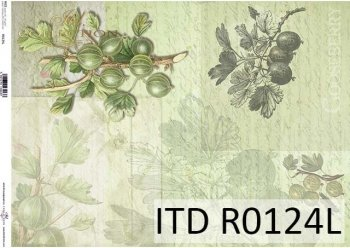 рисовая бумага для декупажа R0124L