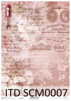Скрапбукинг бумаги SCM0007