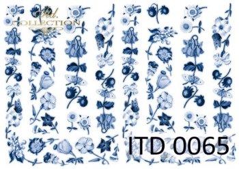 бумага для декупажа классическая D0065