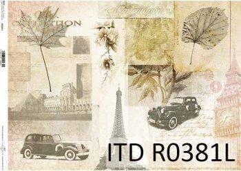 рисовая бумага для декупажа R0381L