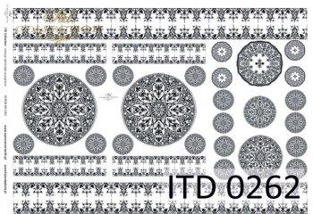 бумага для декупажа классическая D0262