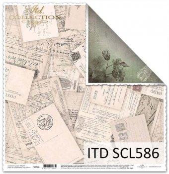 Бумага для скрапбукинга SCL586
