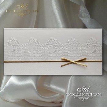 Пасхальная открытка с конвертом KW256