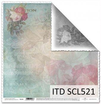 Бумага для скрапбукинга SCL521