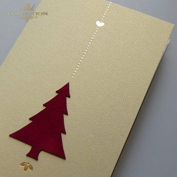 Рождественская и Новогодняя открытка K627