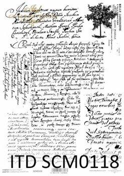 Скрапбукинг бумаги SCM0118