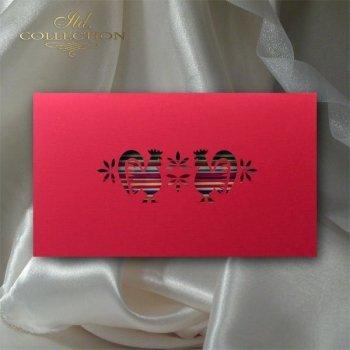 Пасхальная открытка с конвертом KW130