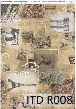 рисовая бумага для декупажа R0008