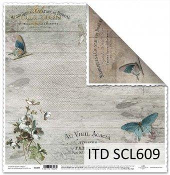 Бумага для скрапбукинга SCL609