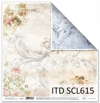 Бумага для скрапбукинга SCL615