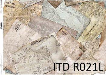 рисовая бумага для декупажа R0021L