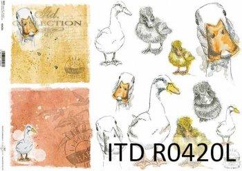 рисовая бумага для декупажа R0420L