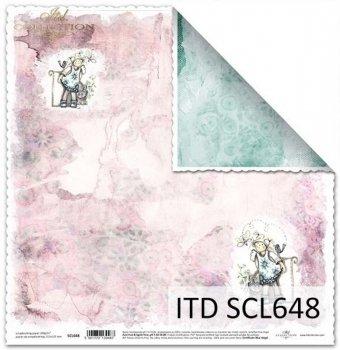 Бумага для скрапбукинга SCL648