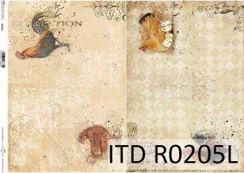 рисовая бумага для декупажа R0205L