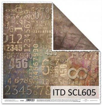 Бумага для скрапбукинга SCL605