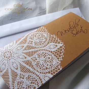 Пасхальная открытка с конвертом KW173