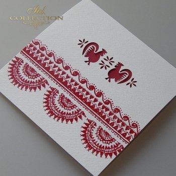 Пасхальная открытка с конвертом KW262