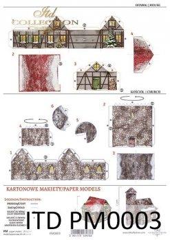 Бумажные макеты архитектуры PM-0003