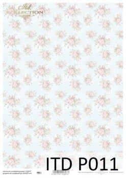 Прозрачная бумага для скрапбукинга P0011