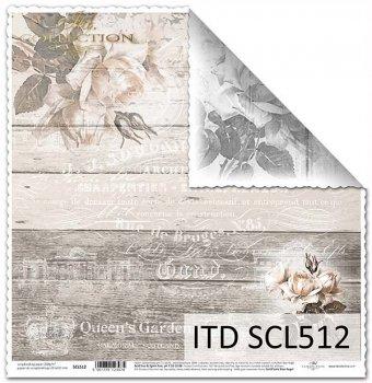 Бумага для скрапбукинга SCL512