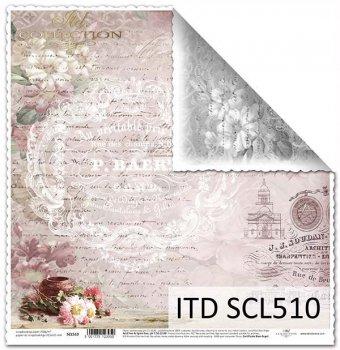 Бумага для скрапбукинга SCL510