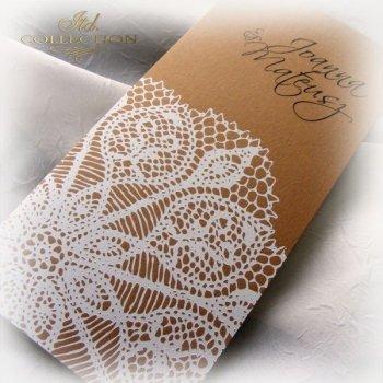 Einladungskarten / Hochzeitskarte 1740
