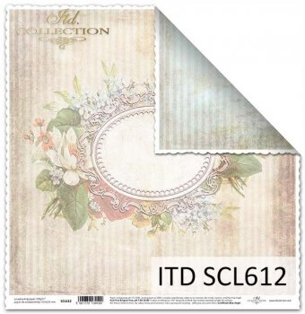 Papier für Scrapbooking SCL612