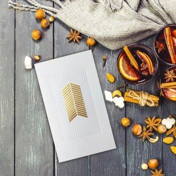 Weihnachtskarten für Unternehmen / Weihnachtskarte K633