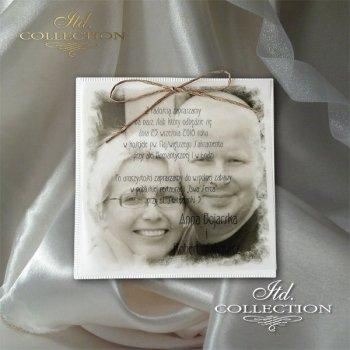 Einladungskarten / Hochzeitskarte 2038