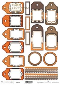 Frames für Scrapbooking TAG0011