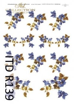 Reispapier für Serviettentechnik und Decoupage R0139