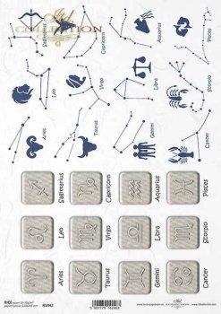 Reispapier für Serviettentechnik und Decoupage R1442