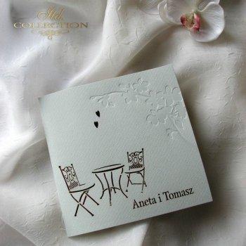 Einladungskarten / Hochzeitskarte 1724_34_rot