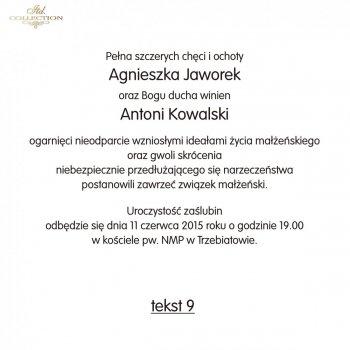 .Text für Hochzeitseinladung - TS09