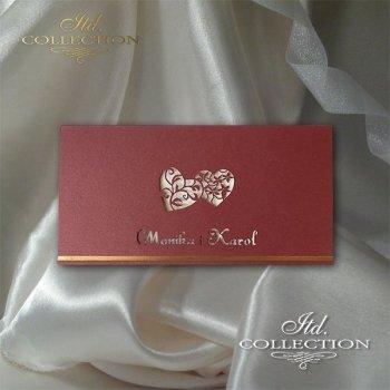 Einladungskarten / Hochzeitskarte 2042