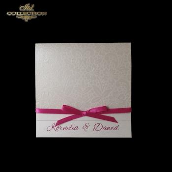 Einladungskarten / Hochzeitskarte 2002