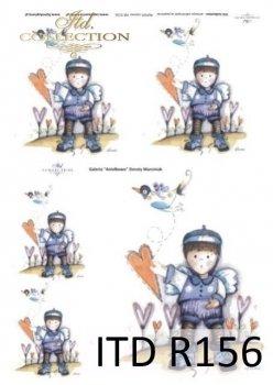 Reispapier für Serviettentechnik und Decoupage R0156