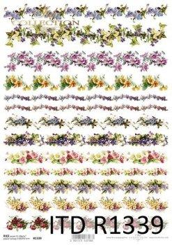 Reispapier für Serviettentechnik und Decoupage R1339