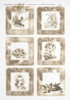 Reispapier für Serviettentechnik und Decoupage R0239