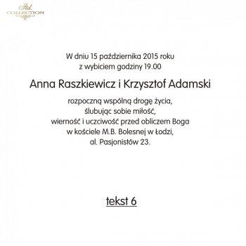 .Text für Hochzeitseinladung - TS06