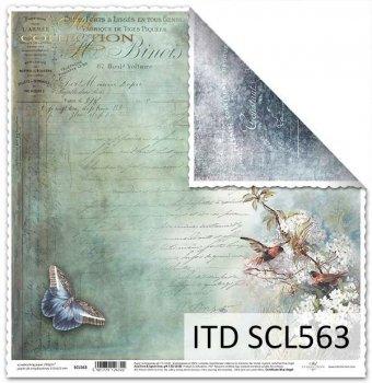 Papier für Scrapbooking SCL563