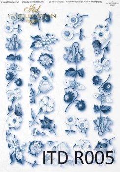 Reispapier für Serviettentechnik und Decoupage R0005