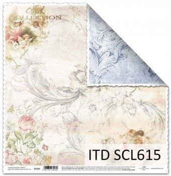 Papier für Scrapbooking SCL615