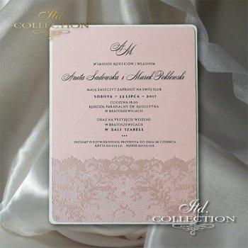 Einladungskarten / Hochzeitskarte 2030