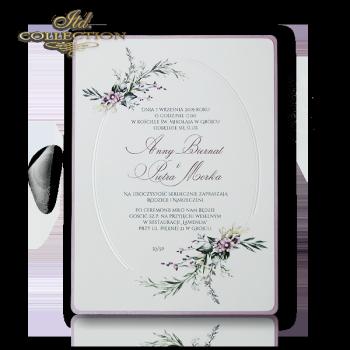 Einladungskarten / Hochzeitskarte 2075