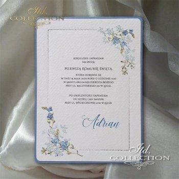 Einladungskarte zur Kommunion 2076